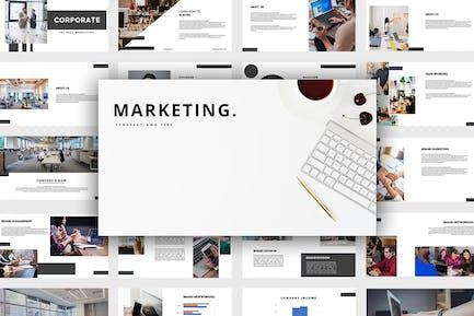 Marketing - Leistungspunkt-Vorlage