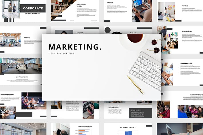 Thumbnail for Marketing - Power Point Template