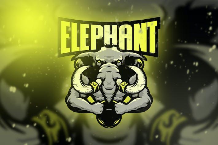 Elephant Esport Logo Vol. 4