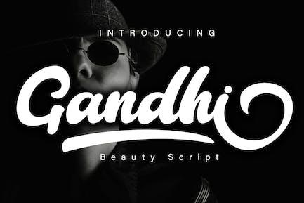 Guión de belleza Gandhi