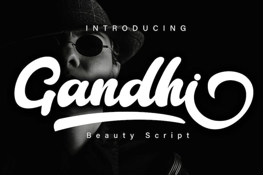 Gandhi Beauty Script