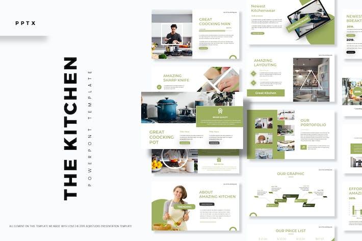 Кухня - Powerpoint Шаблон