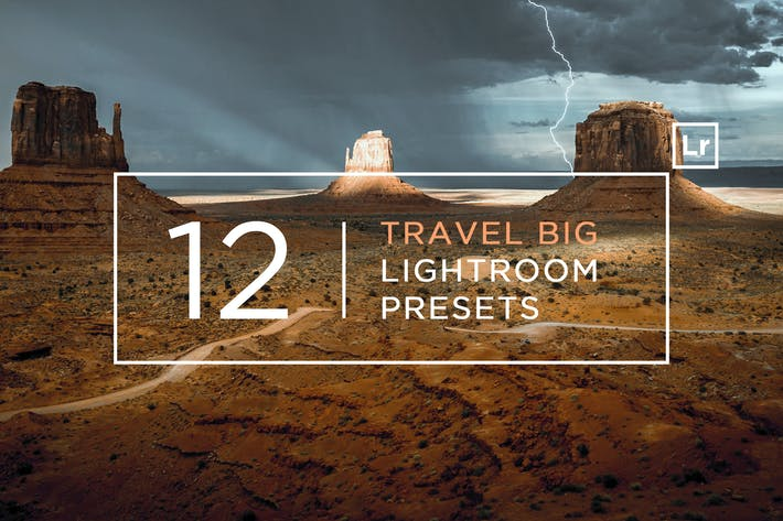 Thumbnail for 12 Travel BIG Lightroom Presets