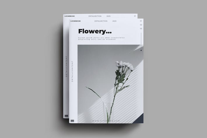 Thumbnail for Flowery Brochure Template