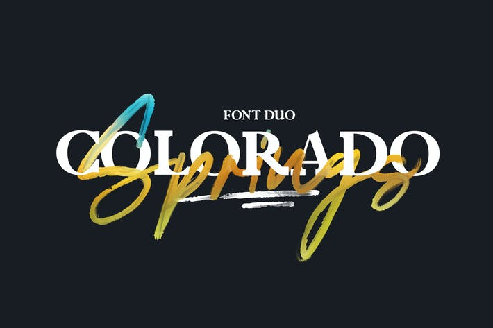Thumbnail for Colorado Springs Font