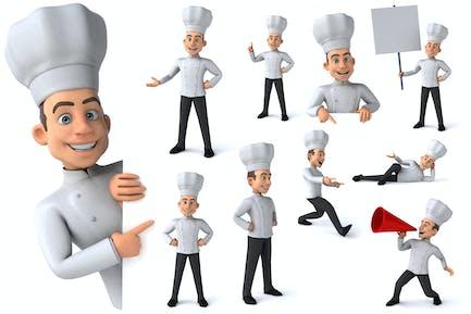10 fun Chefs !
