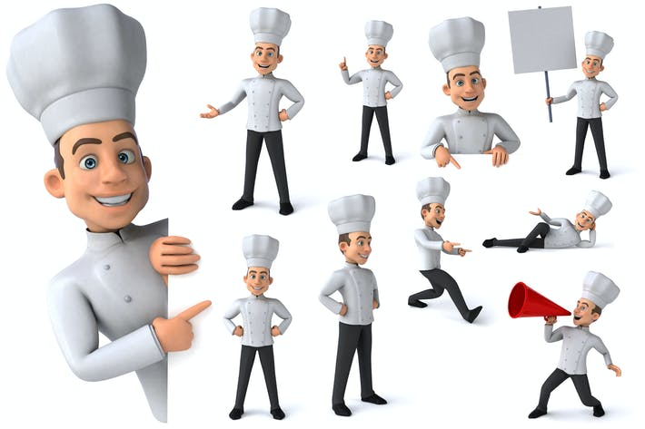 Thumbnail for 10 fun Chefs !