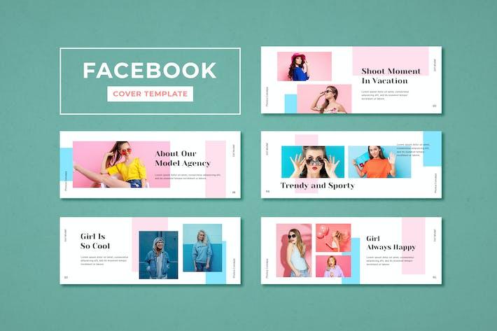 Thumbnail for Facebook Cover Vorlage Model Agentur