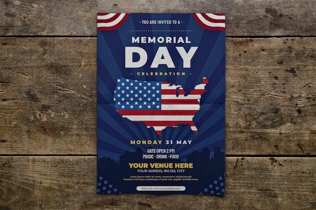 US Memorial Day Flyer