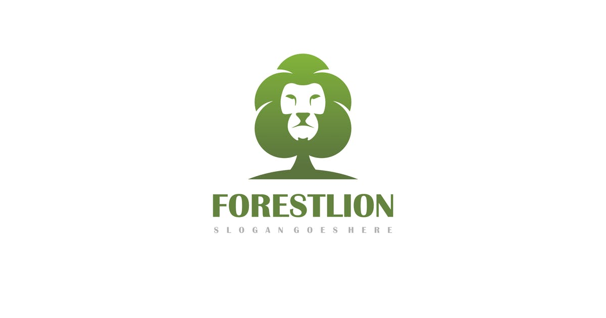 Download Forest Lion Logo by 3ab2ou