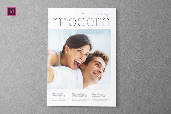 Thumbnail for MODERN - Magazine Template