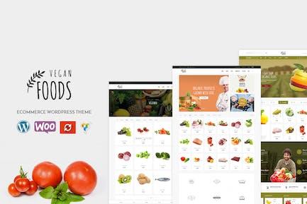 Vegano - Organic Store WooCommerce WordPress Tema
