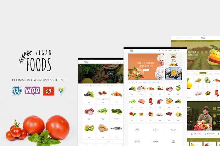 Vegan - Organic Store WooCommerce WordPress Thema