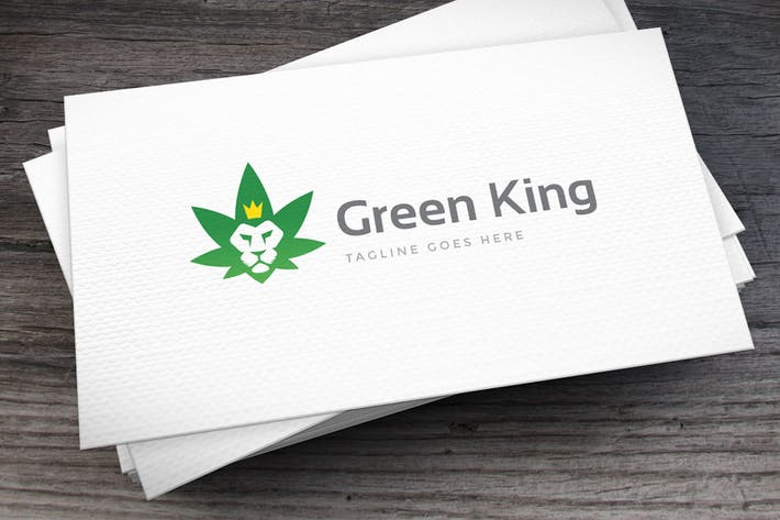 Thumbnail for Green King Logo Template