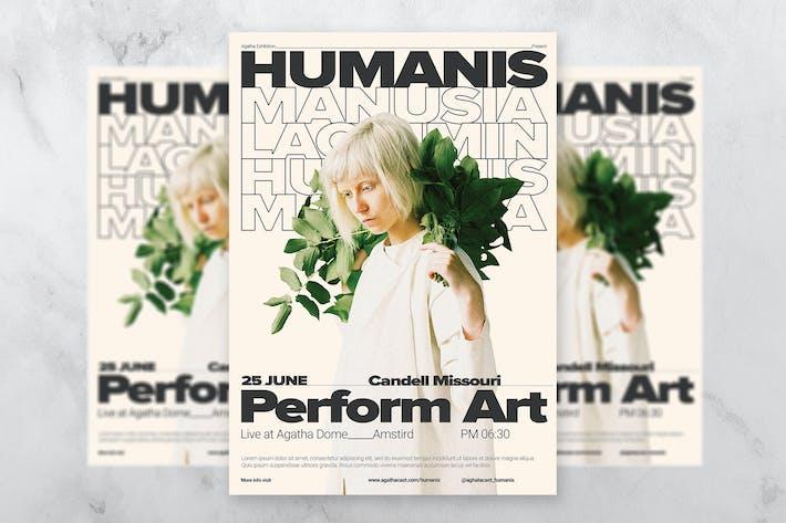 Thumbnail for Humanis Artist Flyer