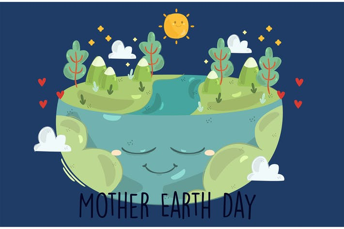 Mother Earth Day Illustration (2)