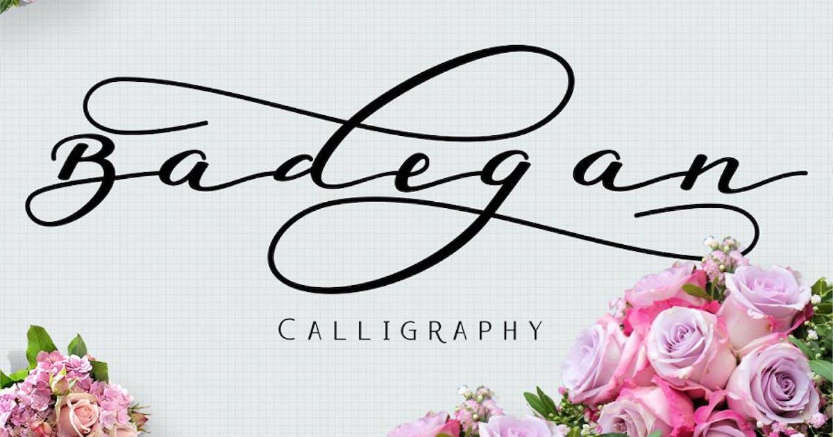 Download Badegan Calligraphy by Byulyayika