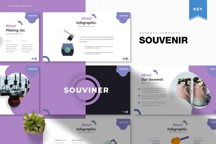 Thumbnail for Souvenir | Keynote Template