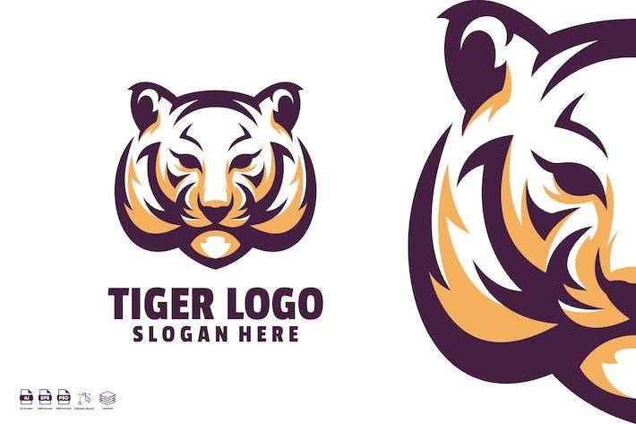 Thumbnail for Tiger logo design