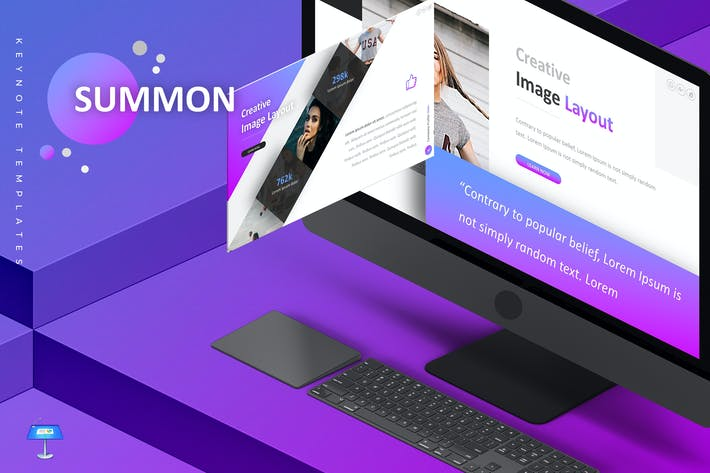 Thumbnail for Summon - Keynote Template