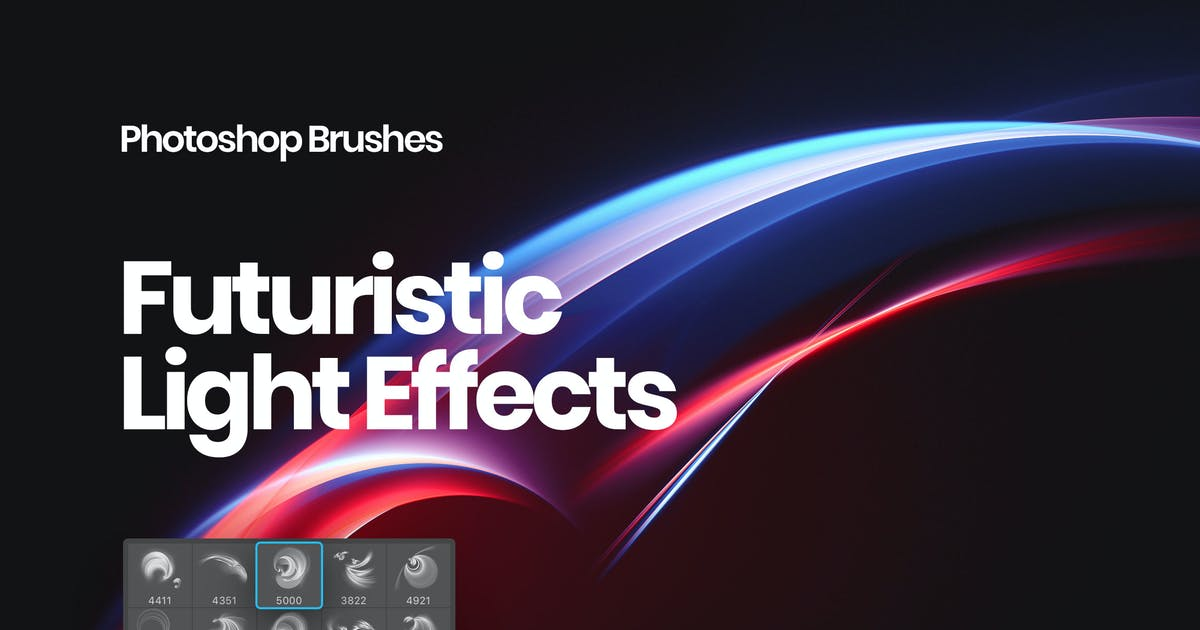 Download Light Effects Photoshop Brushes by themefire