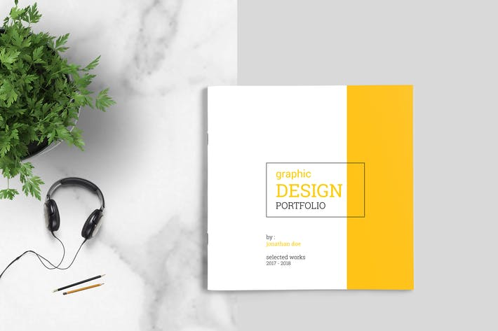 Thumbnail for Graphic Design Portfolio Template