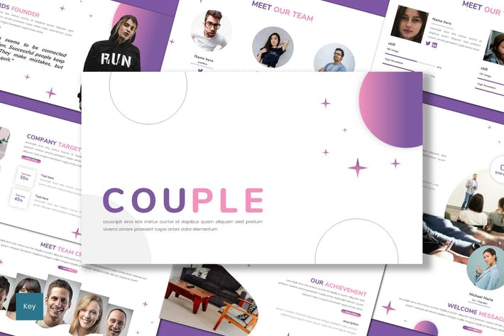 Couple - Business Keynote Template