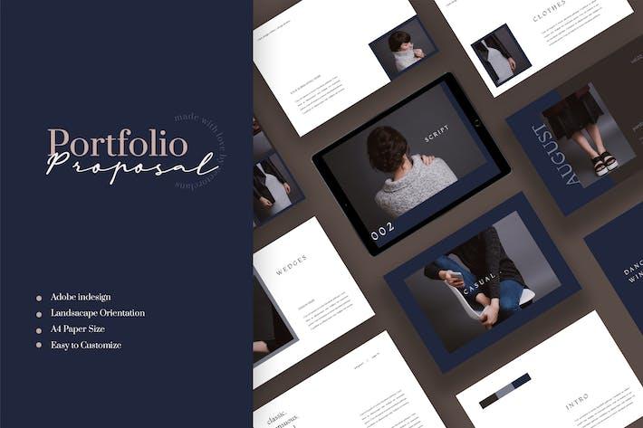 Thumbnail for August - Mode-Portfolio Vorlage