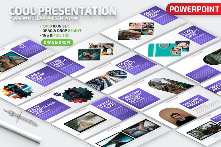 Thumbnail for Cool Powerpoint Presentation Template