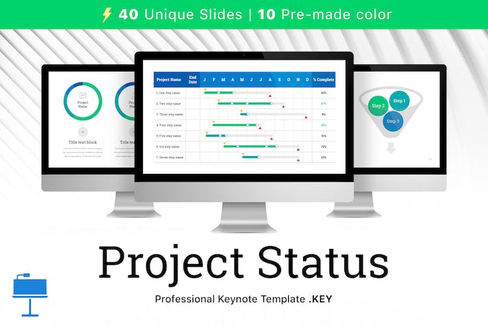 Thumbnail for Project Status for Keynote