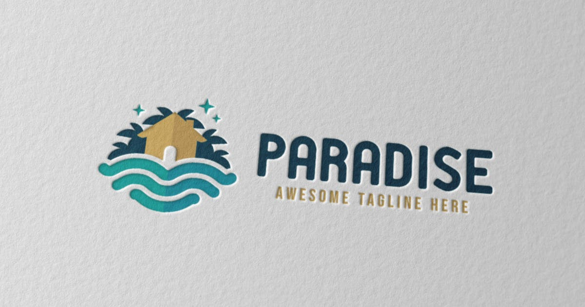 Download Paradise Logo by Scredeck