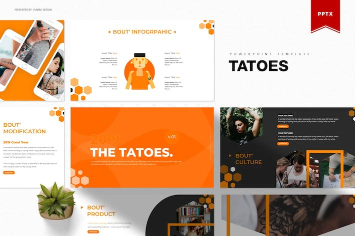 Thumbnail for Tatoes | Powerpoint Template