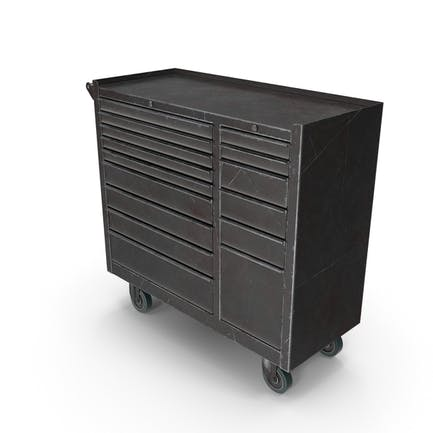 Closed Tool Box Black