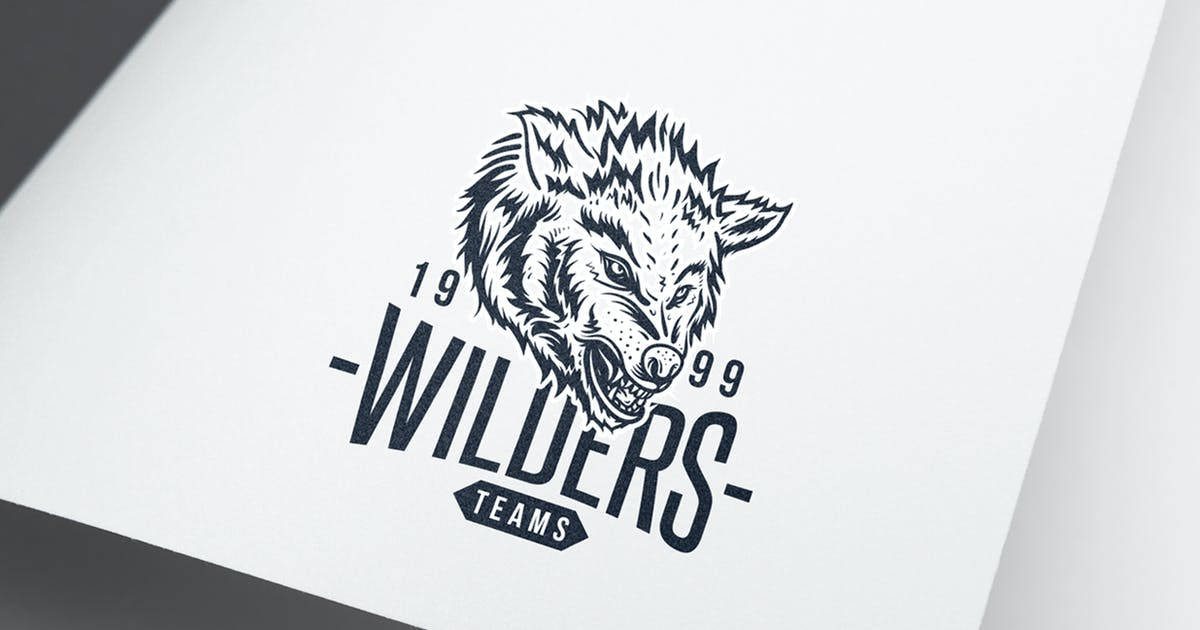 Download Wolf  Logo by VisualColony