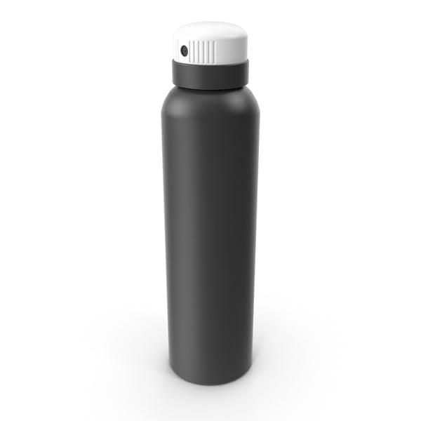 Бутылка спрей черный