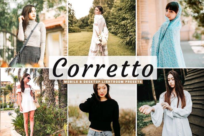 Thumbnail for Corretto Mobile & Desktop Lightroom Presets
