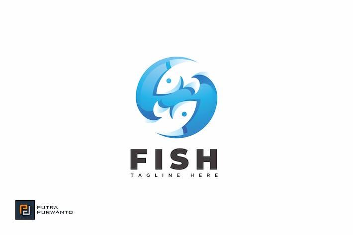 Thumbnail for Рыба - Шаблон логотипа
