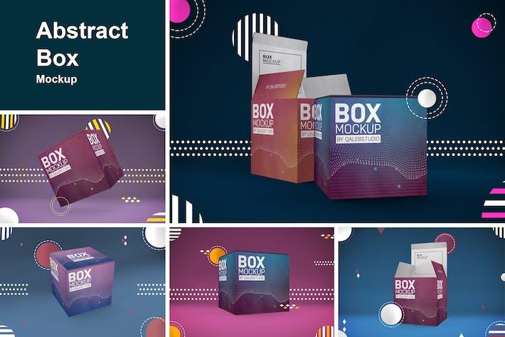 Thumbnail for Abstract Box Mockup