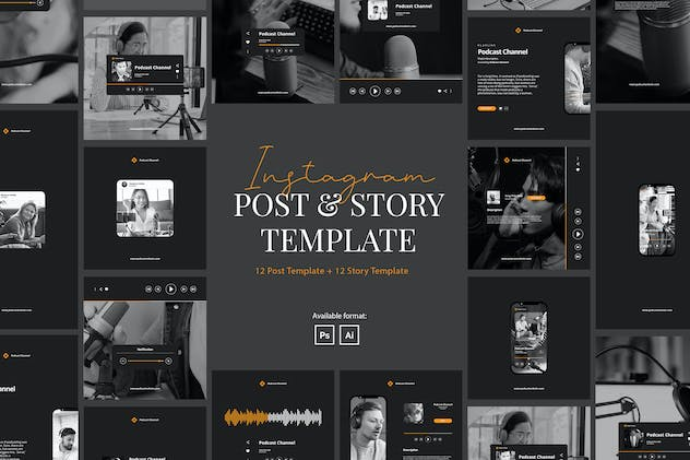Podcast Instagram Template