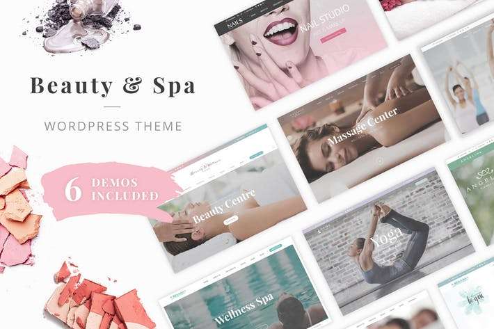 Thumbnail for Beauty Wellness WordPress Theme