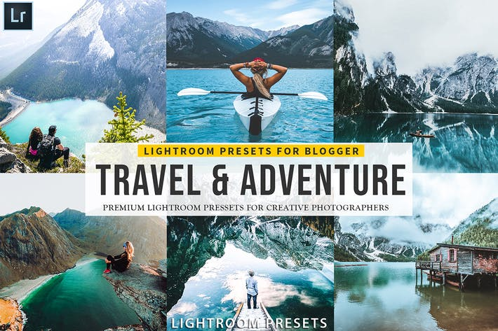 Thumbnail for Travel & Adventure Lightroom Presets