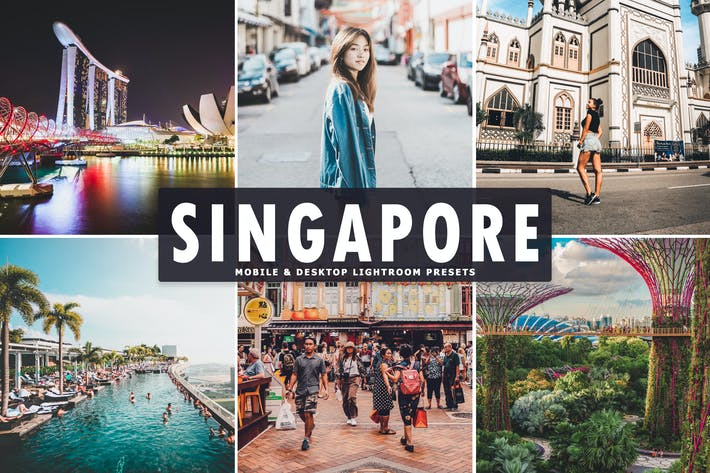 Thumbnail for Singapore Mobile & Desktop Lightroom Presets