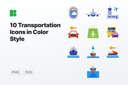 Color - Transportation