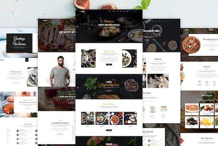 Delice - Multi-Purpose Food & Restaurant Template