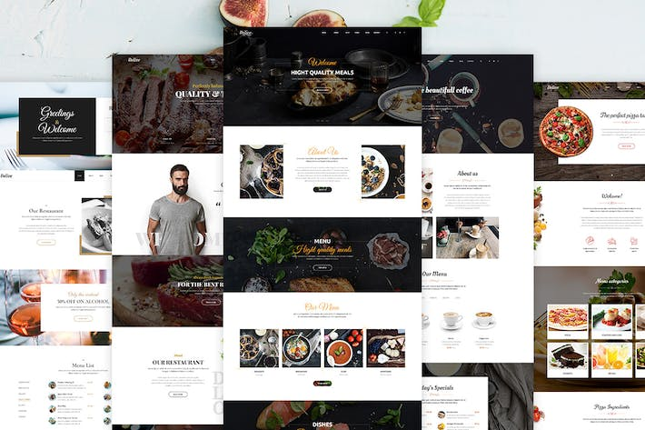 Thumbnail for Delice - Multi-Purpose Food & Restaurant Template