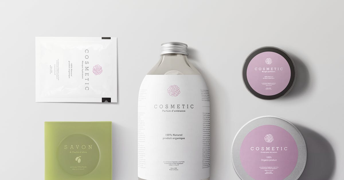 Download Natural Cosmetic Packaging Mock-Ups Vol.2 by Kheathrow