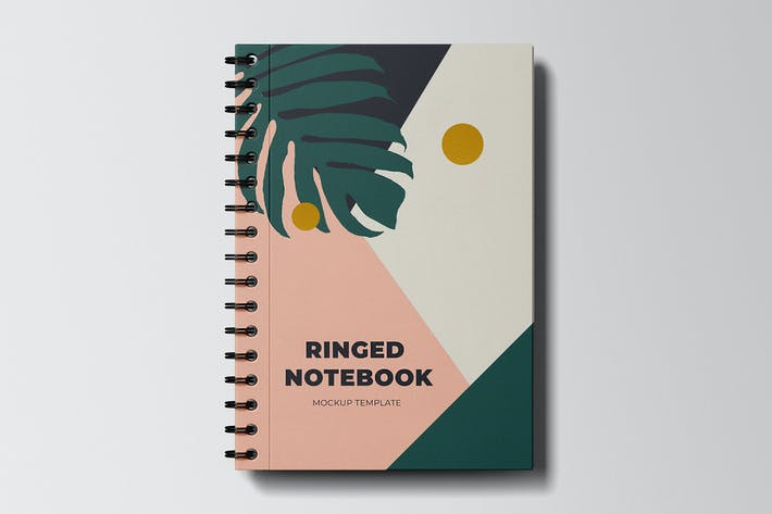 Thumbnail for Ringed Notebook Mockup Template