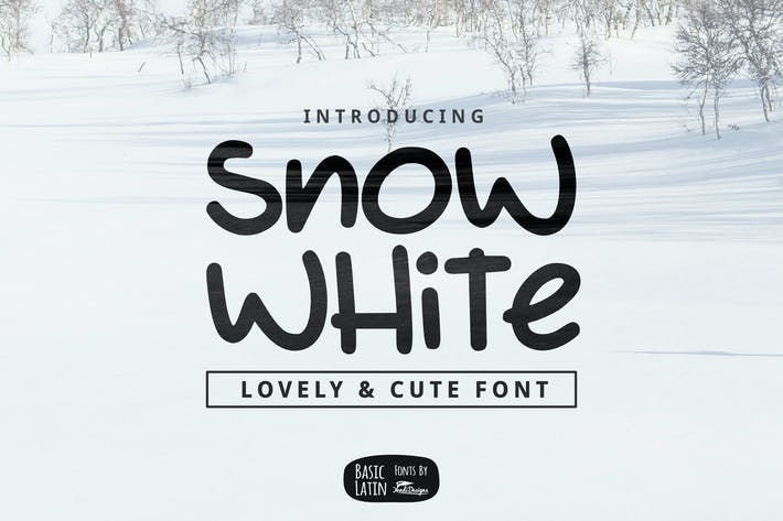 Thumbnail for Snow White Font
