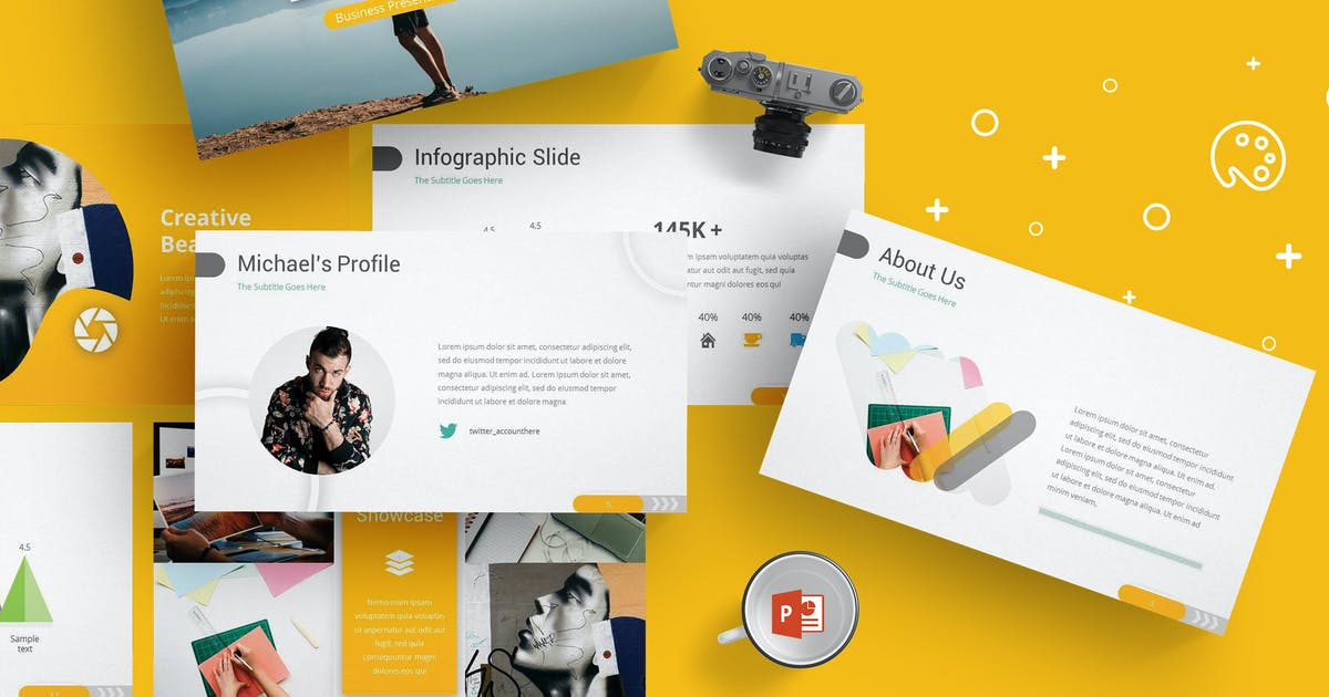 Download Looman - Powerpoint Templates by Unknow