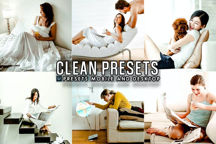 Thumbnail for Clean Effects Lightroom Presets
